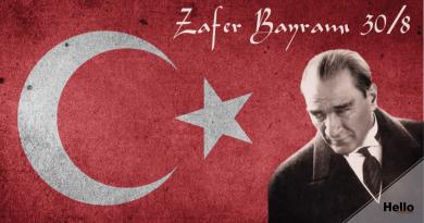 Victory Day: Zafer Bayramı 30/8
