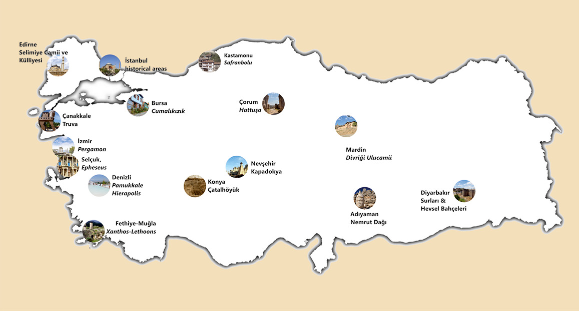 World Heritage in Turkey that is on the UNESCO World Heritage List