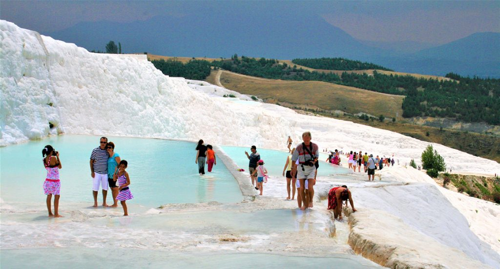 World Heritage in Turkey: Hierapolis-Pamukkale