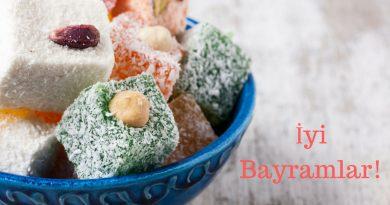 Şeker Bayramınız Kutlu Olsun! Happy Sugar Feast