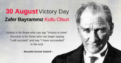Why 30 August is an important day in Turkey?